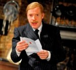 Jonathan Slinger as Malvolio in Twelfth Night