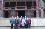 The RSC Friends take a tour of The Globe Theatre with Julian Bowsher